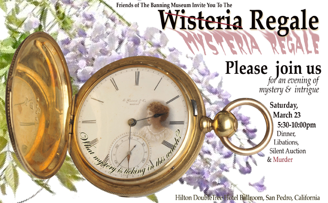 The Banning Museum - Wisteria Regale 2013 - Mysteria Regale