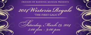 The Banning Museum - Wisteria Regale 2014